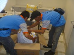foto album office relocation - pt antareza