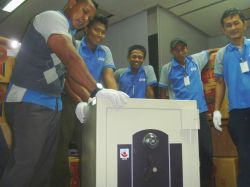 foto album office relocation - total e dan p indonesia